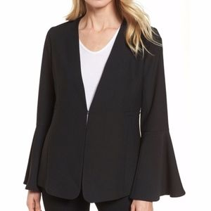 Halogen Bell Sleeve Blazer Large